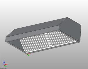 Okap zwbudowanym wentylatorem